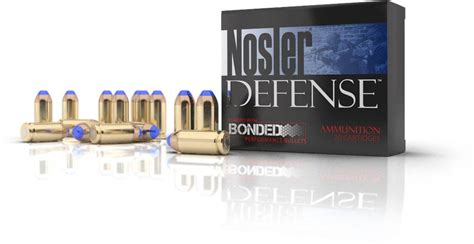defense handgun ammunition nosler bullets brass