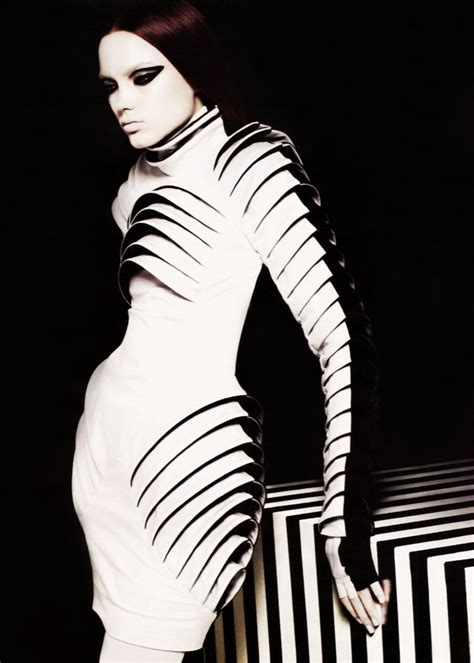 futuristic style gareth pugh fashion topics the red list