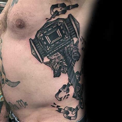 50 Hammer Tattoo Designs For Men Manly Tool Ink Ideas Construction Tattoos Designs