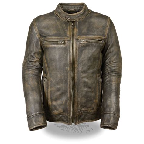 brown motorcycle jacket distressed brown leather motorcycle jackets free shipping