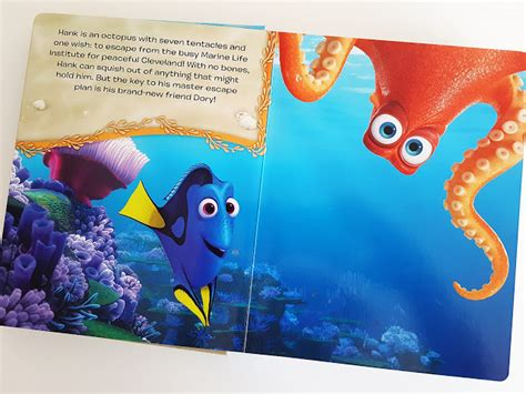 Finding Dory Busy Book disney finding dory my busy books with 12 figurines a