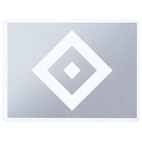 Aufkleber Transparent Silber by Hsv Aufkleber Hsv Logo Silber Transparent Hamburger Sv