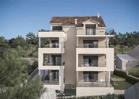 wohnung terrasse primosten dalmatien neubau wohnungen mit terrassen
