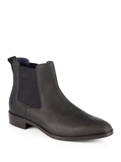cole haan lenox hill chelsea boots in black for lyst