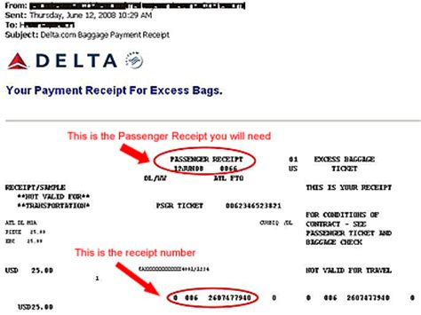 united airlines baggage receipt united airlines baggage charge receipt