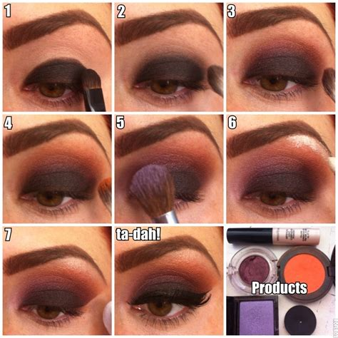 8 Steps To Springs Smoky Eye Look by แซ บส ดร ด ก บ 25 ไอเด ยแต งตา Smoky สวยเร ดส ด