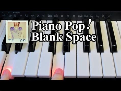 tutorial piano blank space blank space piano lesson taylor swift easy piano
