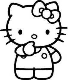 Hello kitty by kawarbir coloring pages of hello kitty with friends