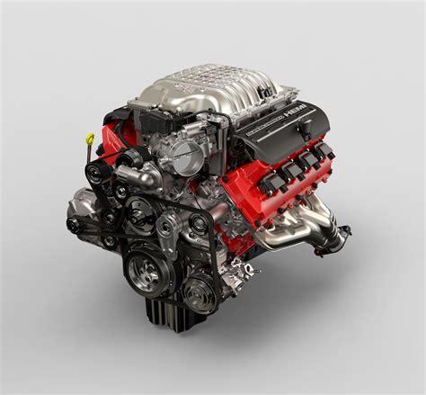 hellcat engine block 2018 dodge challenger srt powertrain fact sheet