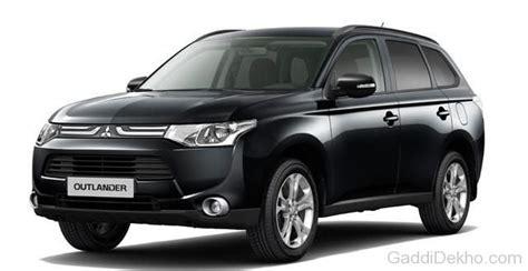 black mitsubishi outlander mitsubishi outlander car pictures images gaddidekho com