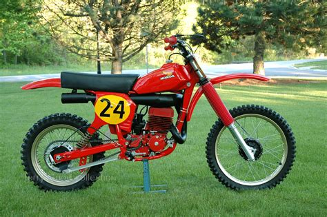 works motocross bikes 1976 honda rc500 works bike vintage dirt