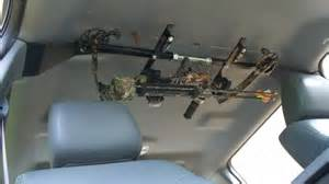 great day center lok overhead bow rack for truck 1 bow