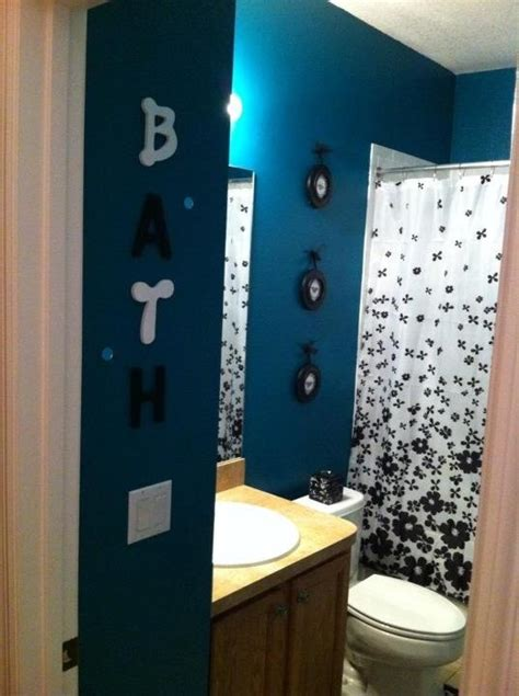 Teal And White Bathroom Teal Black And White Bathroom Kayley S Turquoise Teal Aqua Ti