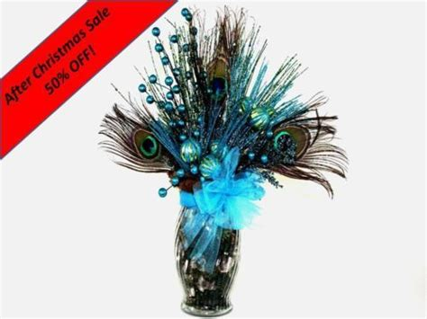 silk peacock home decor silk flower arrangement peacock feathers in home decor and