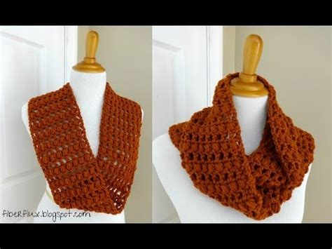 youtube tutorial for infinity scarf episode 13 how to crochet the ginger snap infinity scarf