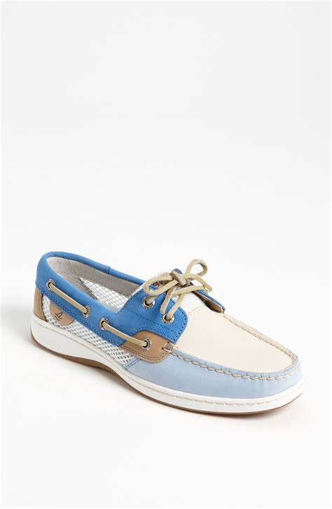 sperry shoes sperry top sider bluefish 2eye boat shoe in blue