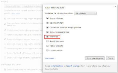 chrome saved passwords how to remove auto saved passwords in ie chrome firefox
