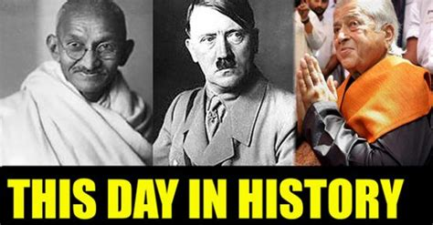 on this day in history today in history what happened on this day know oneindia