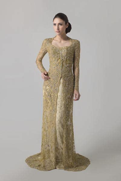 vera kebaya golden tenun kebaya wedding gown dresscodes
