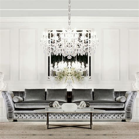 high end sofas large high end velvet button upholstered designer sofa