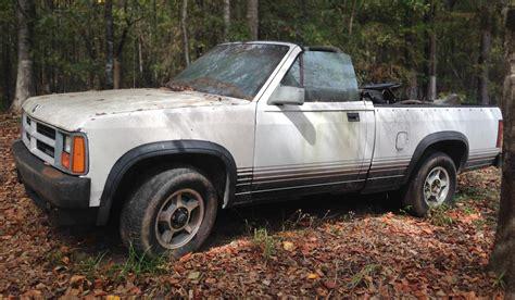 rugged ragtop 1989 dodge dakota convertible