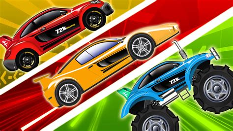 childrens cars sports car racing cars compilation cars for