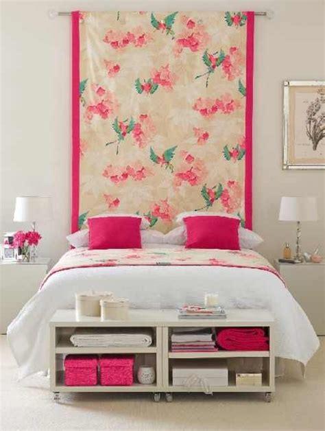 hanging fabric headboard hang fabric behind bed instead of a headboard diy headboard pinterest