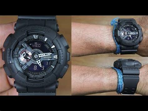 Casio G Shock Ga 110mb 1adr casio g shock ga 110mb 1a all black unboxing