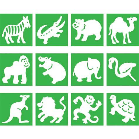 printable zoo animals templates zoo animals stencils arts and craft