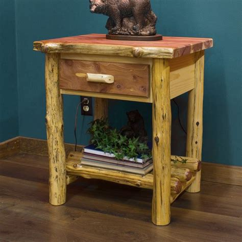 Cedar Nightstand by Cedar Stands Woodworking Projects Plans