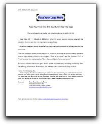 your press releases