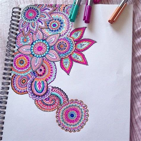 colorful things to draw best 25 easy doodle ideas on choses