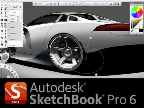 sketchbook pro last version autodesk sketchbook pro 6 car design