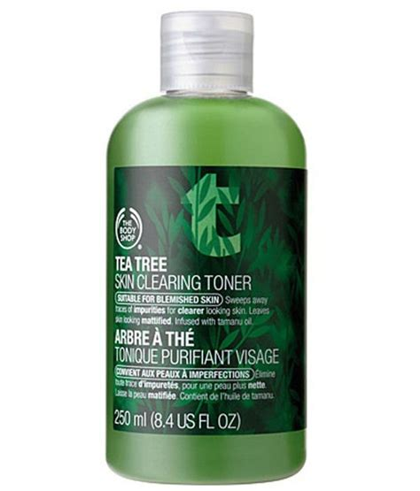 Toner Tea Tree the shop tea tree skin clearing toner 250ml buy the shop tea tree skin clearing toner