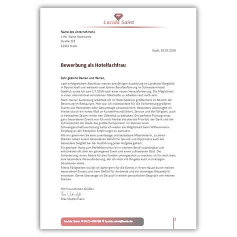 Anschreiben Bewerbung Ausbildungsplatz Hotelfachfrau Bewerbung Steuerfachangestellte Bewerbungsdesign