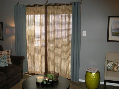 Patio Door Window Treatment Patio Door Window Treatment Photos