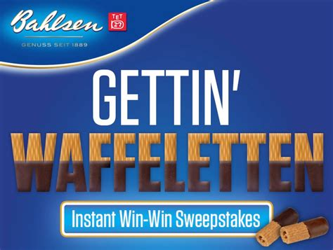 Instant Wins Sweepstakes - instant win sweepstakes from bahlsen cookies bb product reviews
