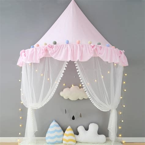 canopy bed curtains for kids tent for kids canopy bed curtains cotton play tent house kids room myuala