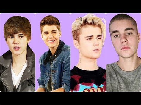 bieber haircut before and after justin bieber before and after hairstyle 2009 2016