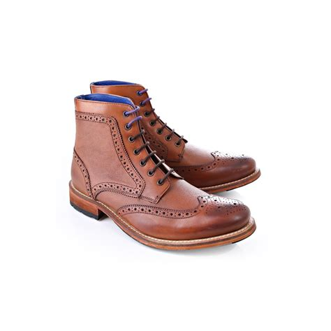 ted baker boots mens ted baker mens ted baker mens sealls 2 chunky brogue boot
