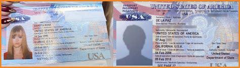 novelty passport template passport template teller resume sle
