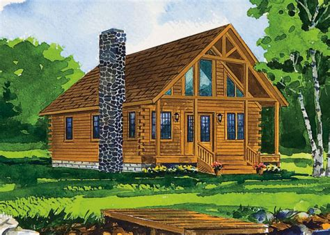 the black fork log home plan home design garden