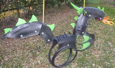 recycled tire swing dragon swing made in austin tx children s activities
