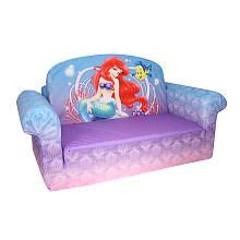 disney mermaid flip open sofa baby room