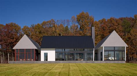 modern house in country modern house in virginia countryside idesignarch