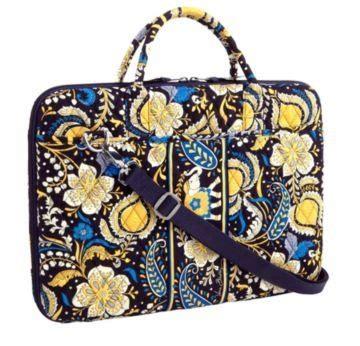 Vera Bradley Sweepstakes - vera bradley laptop portfolio ellie blue nwt