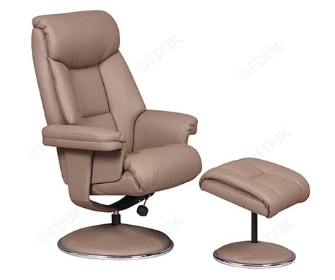 Gfa Biarritz Leather Swivel Recliner Chair Swivel Recliner Leather Chairs
