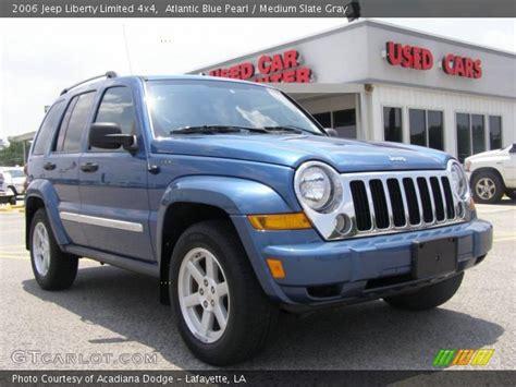 2006 Jeep Liberty Limited Atlantic Blue Pearl 2006 Jeep Liberty Limited 4x4