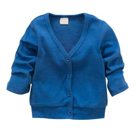 Jaket Sweter Hoodie Eiger 5 baby kid clothing v neck cardigan thick cotton jacket coat