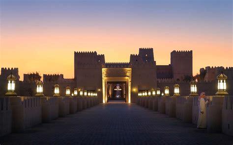 abu dhabi desert resort qasr al sarab desert resort by delta lighting solutions projects anantara qasr al